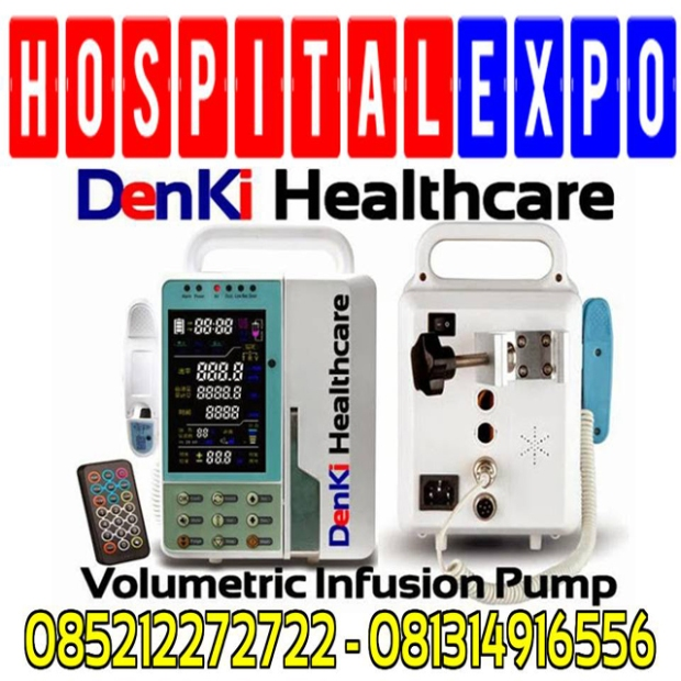 Infusion-Pump-DenKi-HealthCare-Alkes-Expo