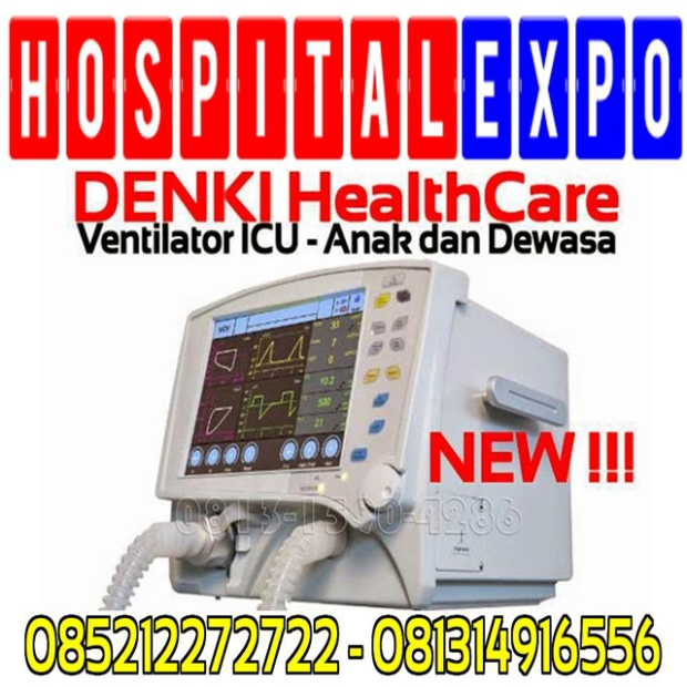 Ventilator-Icu-Pediatric-and-Adult-Denki-Healthcare-Alkes-Expo